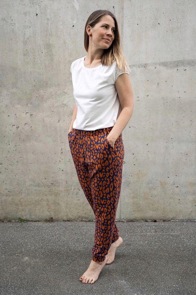 Produktfoto von Finas Ideen zum Nähen für Schnittmuster Lässige Hose Abby