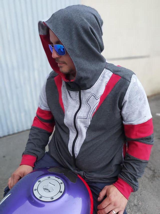 Produktfoto von Safilou zum Nähen für Schnittmuster Männersweatjacke Lennox