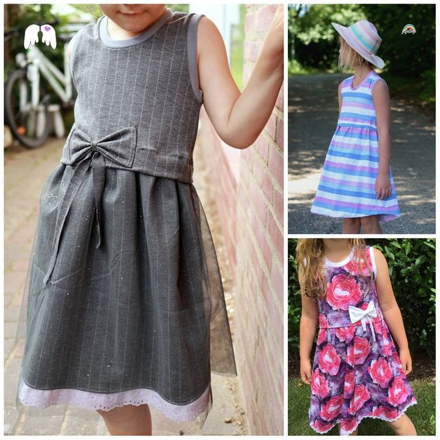 Produktfoto von Engelinchen zum Nähen für Schnittmuster Festliches Kleid  Vanessa