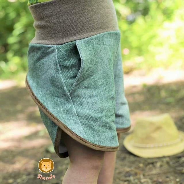 Produktfoto von FrleinFaden zum Nähen für Schnittmuster Kurze Sommerhose 68-98