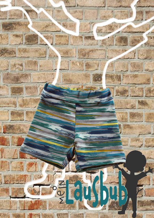 Produktfoto von Mein Lausbub Schnittmuster zum Nähen für Schnittmuster Finn Bermuda für Jungs