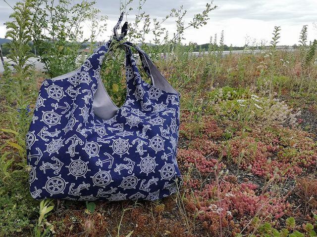Produktfoto von Meine Schnitte.de zum Nähen für Schnittmuster Strandtasche St. Peter-Ording