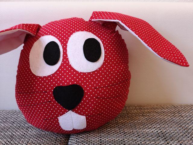 Produktfoto von Meine Schnitte.de zum Nähen für Schnittmuster Hasenkissen