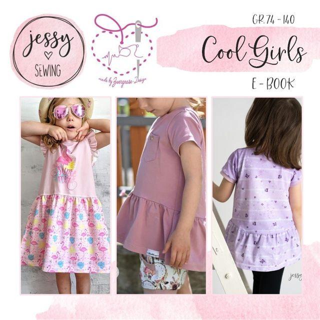 Produktfoto von Zwergnase-Design zum Nähen für Schnittmuster Kleid/Tunika Cool Girls
