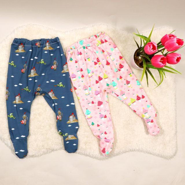 Produktfoto von Engelinchen zum Nähen für Schnittmuster Babyhose Aaron mit Füßchen