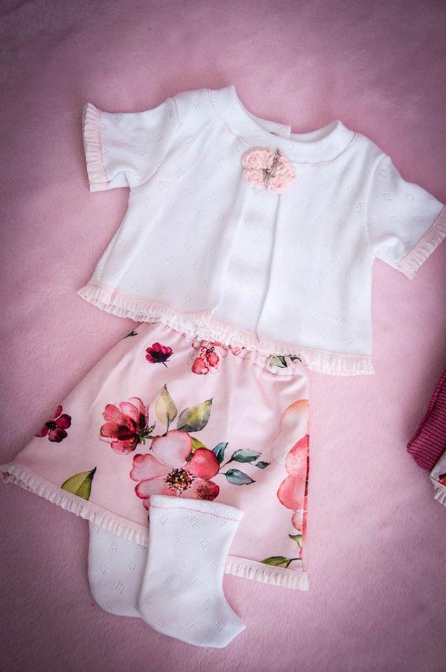 Produktfoto von 73engelchen zum Nähen für Schnittmuster 24 Jersey-Modelle für Baby- und Stehpuppen 43 cm