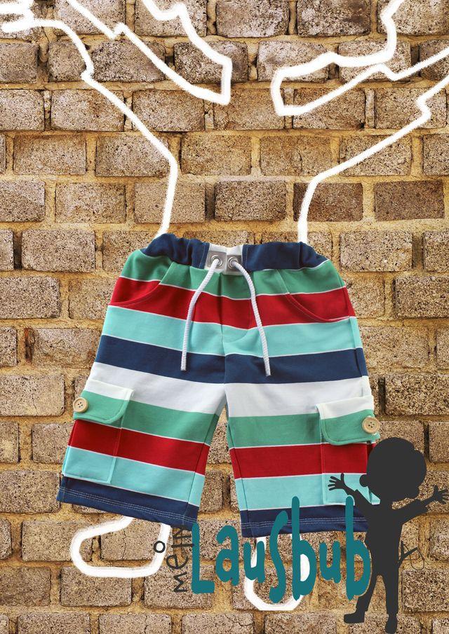 Produktfoto von Mein Lausbub Schnittmuster zum Nähen für Schnittmuster Gabor Cargohose für Jungs