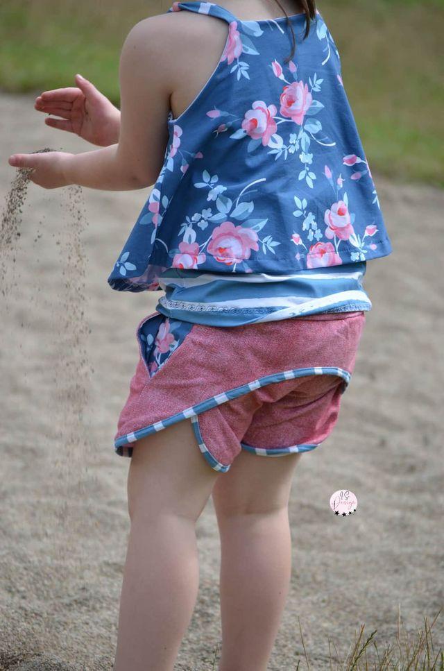 Produktfoto von FrleinFaden zum Nähen für Schnittmuster Kurze Sommerhose 104-140