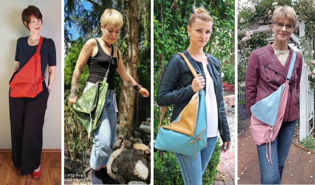 Produktfoto von AKkreativ zum Nähen für Schnittmuster Eine-Beutel-Sling-Bag