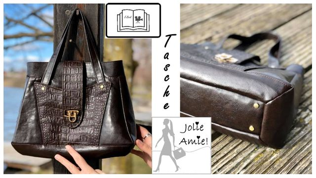 Produktfoto von AKkreativ zum Nähen für Schnittmuster Handtasche Jolie Amie