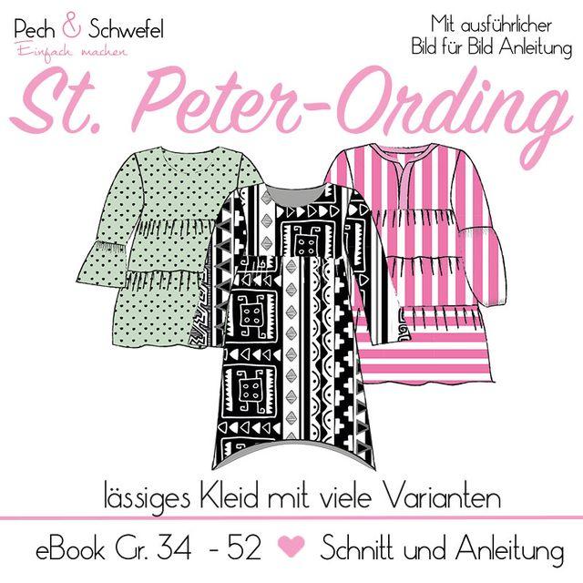 Produktfoto von Pech & Schwefel zum Nähen für Schnittmuster Kleid St. Peter-Ording