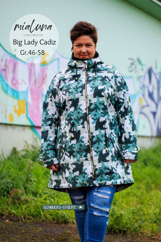 Produktfoto von mialuna zum Nähen für Schnittmuster Big Lady Cadiz