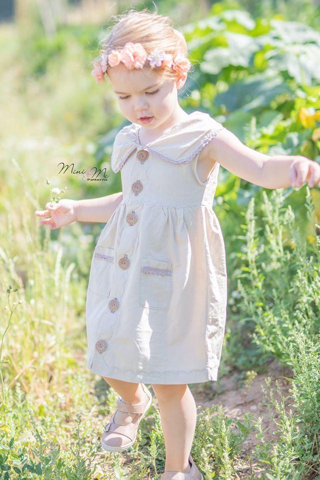 Produktfoto von Mini & Me Patterns zum Nähen für Schnittmuster Mini & Me Sommerkleidchen