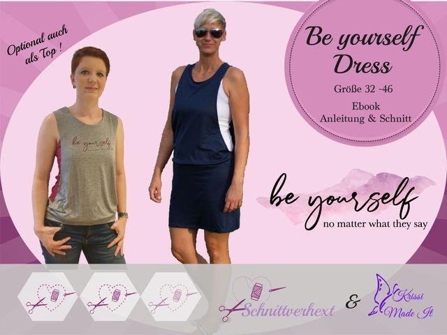 Produktfoto von Schnittverhext zum Nähen für Schnittmuster Be yourself Dress
