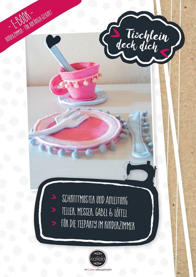 Produktfoto von Katiela zum Nähen für Schnittmuster Tischlein deck dich