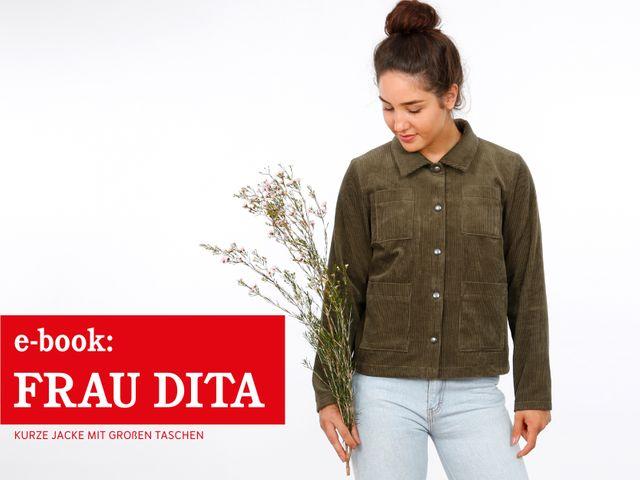 Produktfoto von STUDIO SCHNITTREIF zum Nähen für Schnittmuster Frau Dita