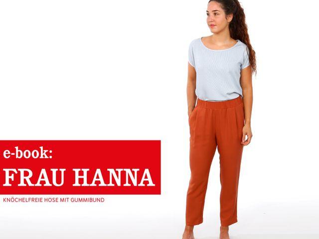 Produktfoto von STUDIO SCHNITTREIF zum Nähen für Schnittmuster Frau Hanna