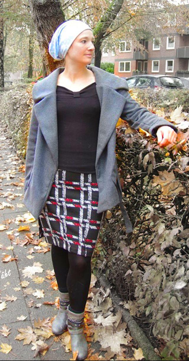 Produktfoto von Unendlich schön - Design Anita Lüchtefeld zum Nähen für Schnittmuster Reverserweiterung zur Kapuzenjacke Scilla