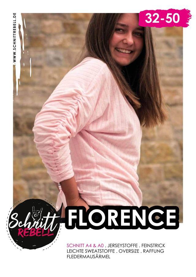 Produktfoto von Schnittrebell zum Nähen für Schnittmuster Pullover Florence