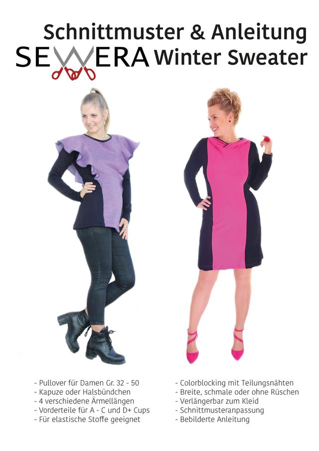 Produktfoto von sewera zum Nähen für Schnittmuster Winter Sweater