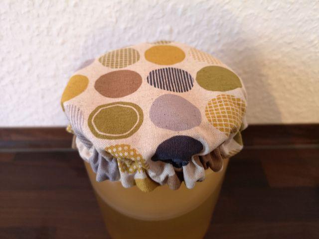 Produktfoto von Meine Schnitte.de zum Nähen für Schnittmuster Weckglas-Haube für Kombucha-Brauer