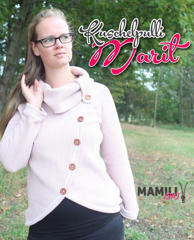 Produktfoto von Mamili1910 zum Nähen für Schnittmuster Kuschelpulli Marit