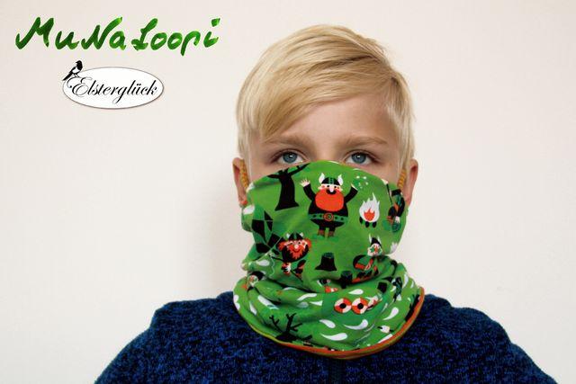 Produktfoto von Elsterglück zum Nähen für Schnittmuster MuNaLoopi