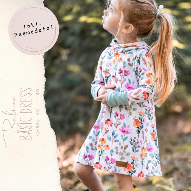 Produktfoto von Ba.binaa Patterns zum Nähen für Schnittmuster Basic Dress