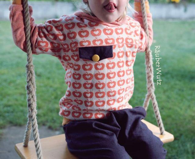 Produktfoto von FrleinFaden zum Nähen für Schnittmuster Taschenklappenhoodie 68-98