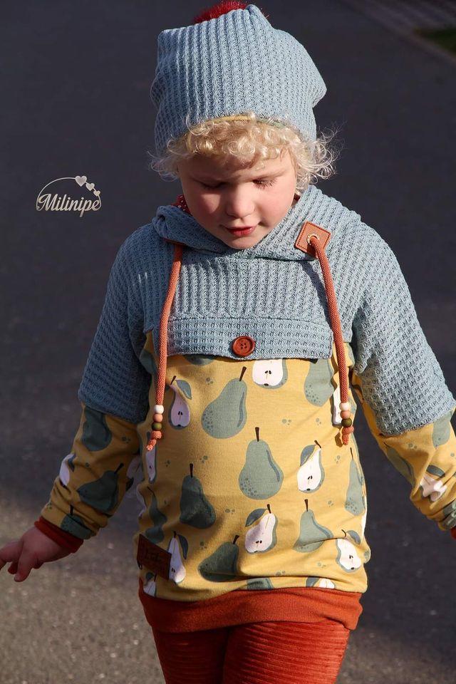 Produktfoto von FrleinFaden zum Nähen für Schnittmuster Taschenklappenhoodie 104-140