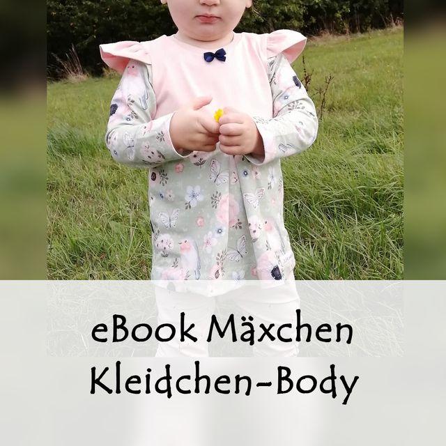 Produktfoto von Bunte Nähigkeiten zum Nähen für Schnittmuster Kleid-Body