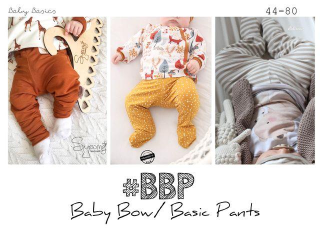 Produktfoto von rosarosa zum Nähen für Schnittmuster #BBP Baby Bow/Basic Pants