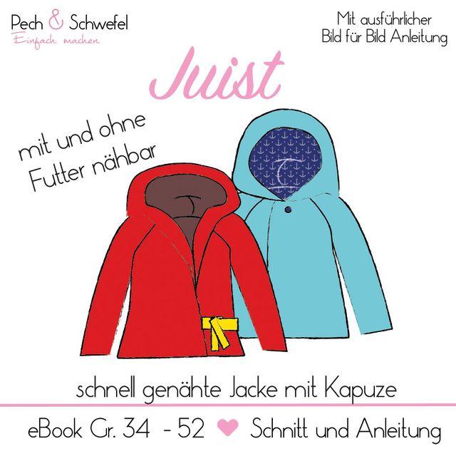 Produktfoto von Pech & Schwefel zum Nähen für Schnittmuster Jacke Juist