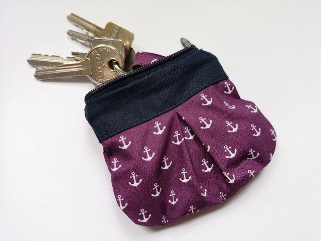 Produktfoto von Meine Schnitte.de zum Nähen für Schnittmuster Schlüssel-Täschchen