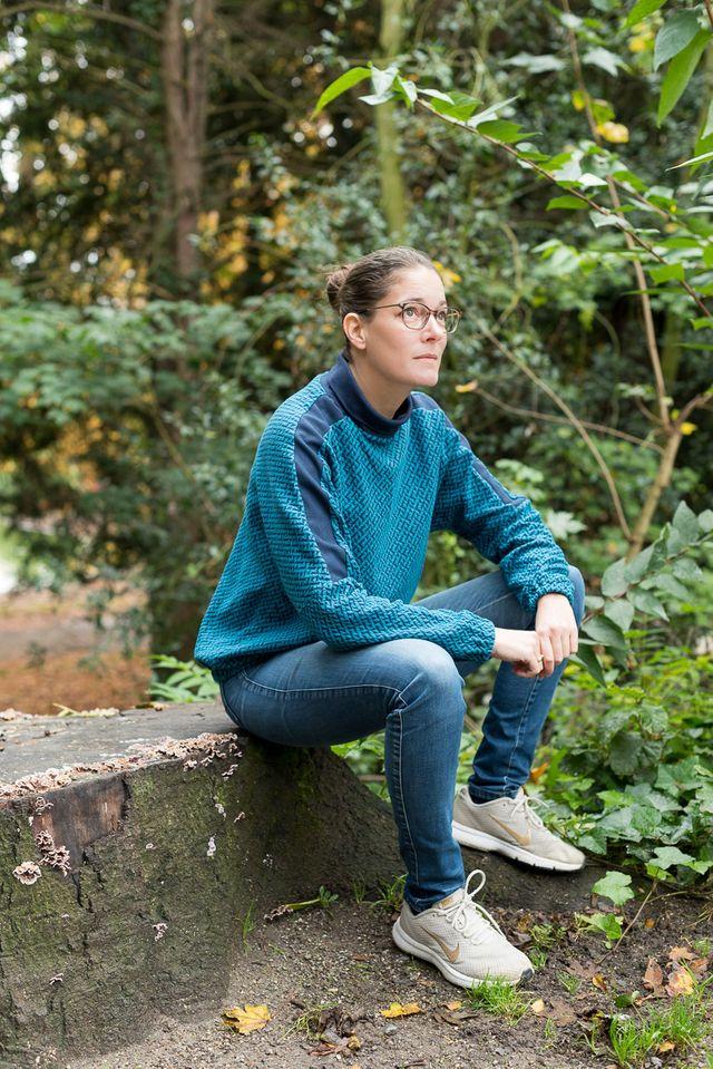 Produktfoto von pedilu zum Nähen für Schnittmuster LaBlus Sweater