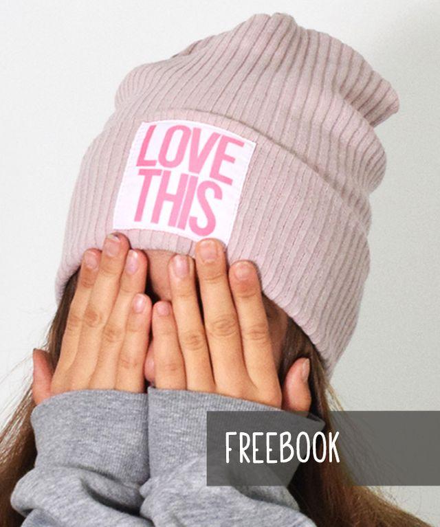 Produktfoto von Leni Pepunkt zum Nähen für Schnittmuster HIPSTER.mütze