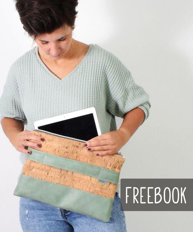 Produktfoto von Leni Pepunkt zum Nähen für Schnittmuster LAPTOP-/TABLET.tasche