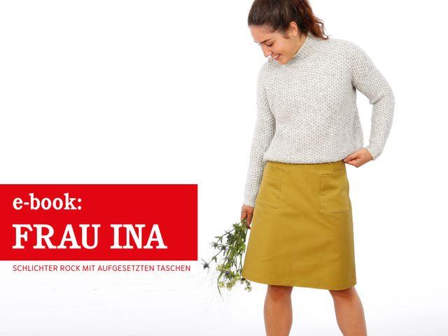 Produktfoto von STUDIO SCHNITTREIF zum Nähen für Schnittmuster Frau Ina