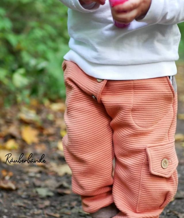 Produktfoto von FrleinFaden zum Nähen für Schnittmuster Taschenhose 68-98