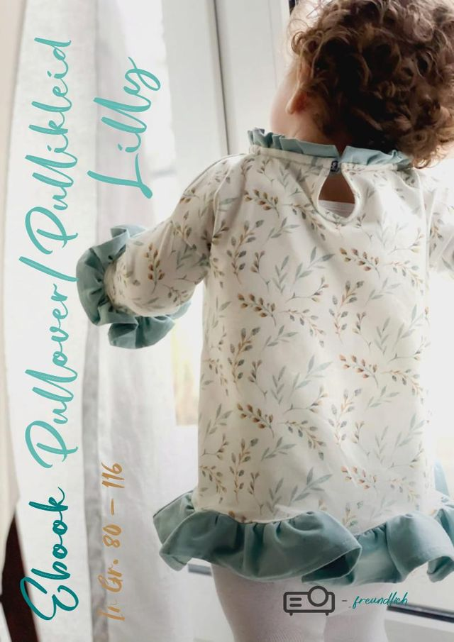 Produktfoto von MamisLiebenNähen zum Nähen für Schnittmuster Pullover/Pullikleid Lilly 2 in 1