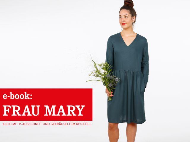 Produktfoto von STUDIO SCHNITTREIF zum Nähen für Schnittmuster Frau Mary