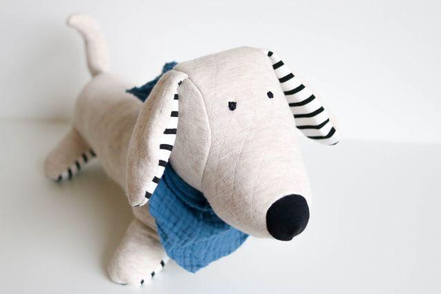 Produktfoto von Kid5 zum Nähen für Schnittmuster FRED the sausage-dog