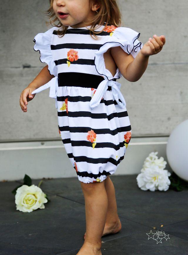 Produktfoto von LovelySewDesign zum Nähen für Schnittmuster Jumpsuit/Kleid Lovely Butterfly