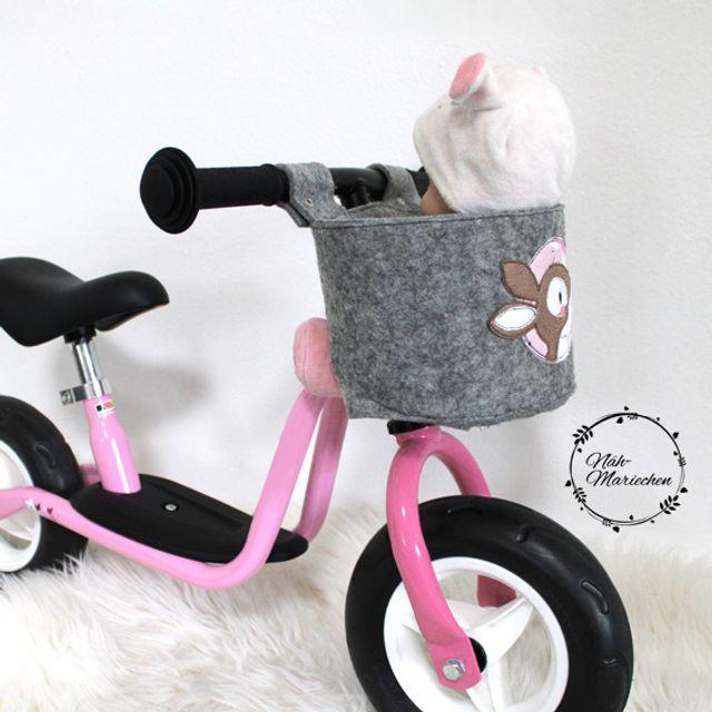 Produktfoto von LovelySewDesign zum Nähen für Schnittmuster Puppen-Fahrradsitz Lovely Seat