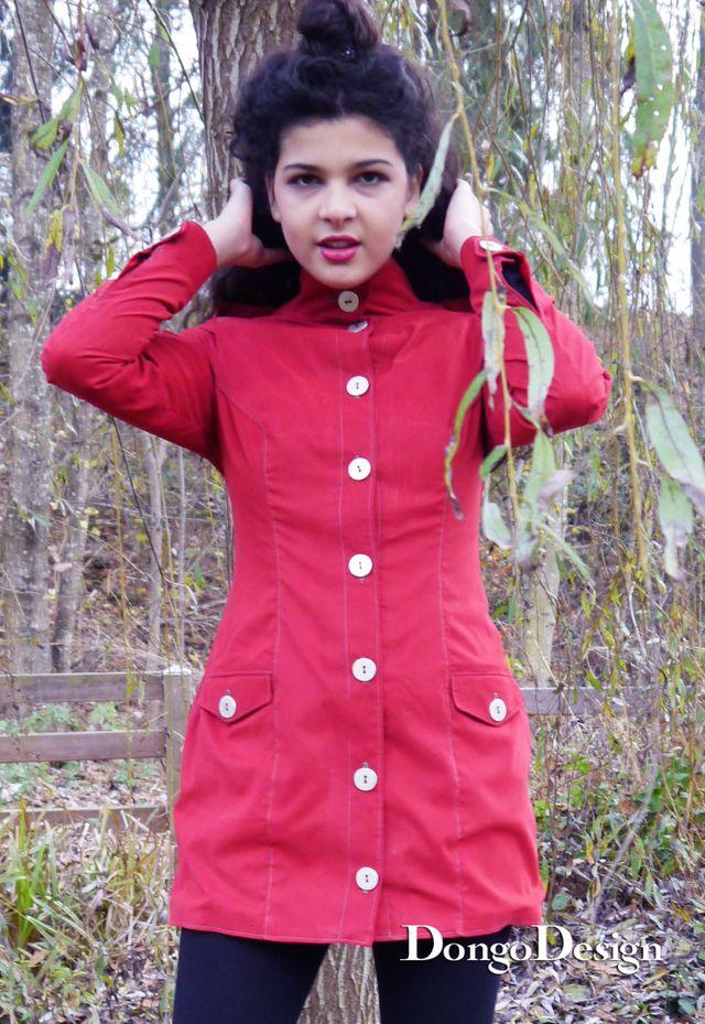 Produktfoto von DongoDesign zum Nähen für Schnittmuster Kleid und Jacke Helena