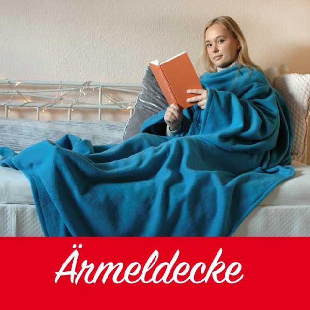 Produktfoto von Märzenbecher zum Nähen für Schnittmuster Ärmeldecke // Lesedecke