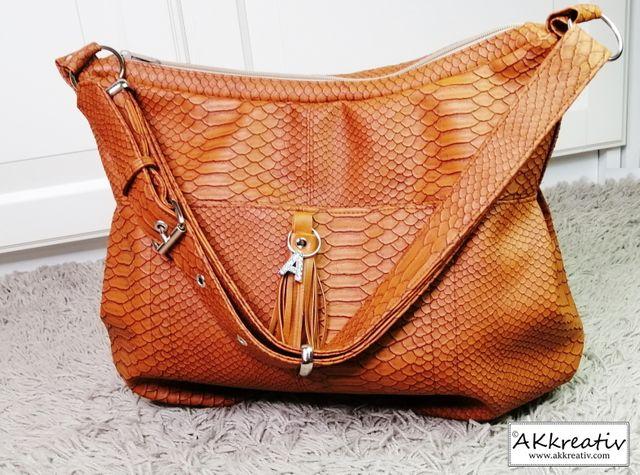 Produktfoto von AKkreativ zum Nähen für Schnittmuster Tasche Olivia