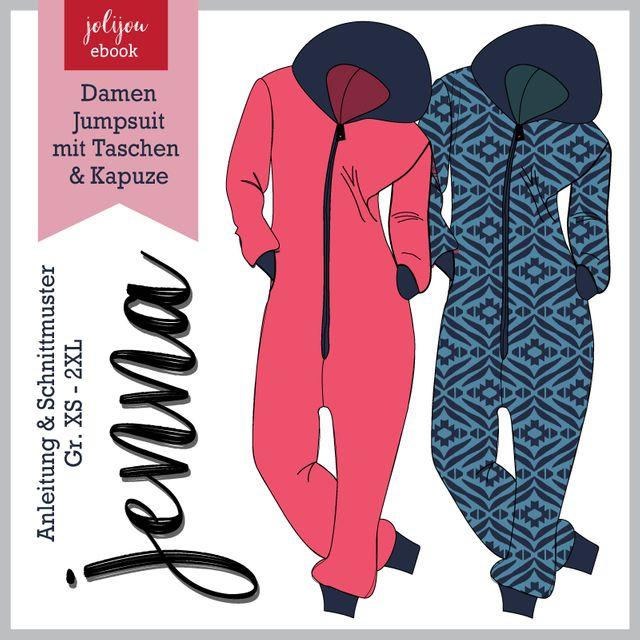 Produktfoto von Jolijou zum Nähen für Schnittmuster Jumpsuit Jenna