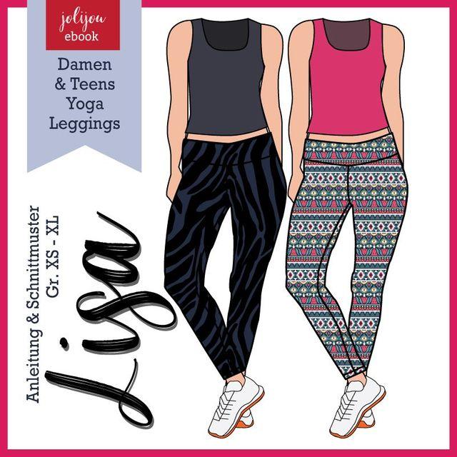 Produktfoto von Jolijou zum Nähen für Schnittmuster Leggings Lisa