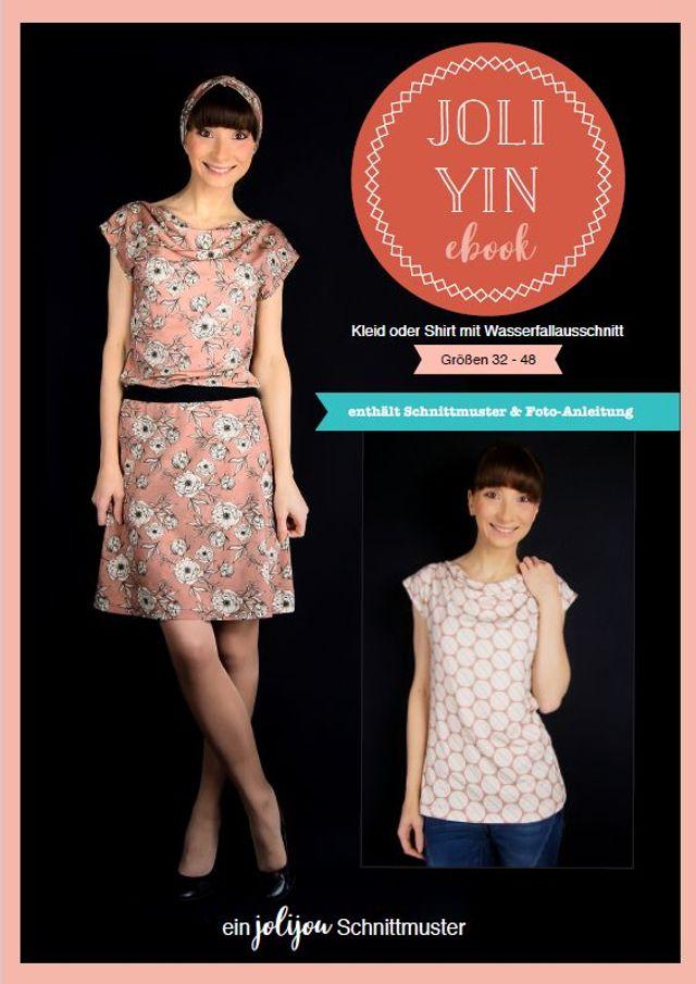 Produktfoto von Jolijou zum Nähen für Schnittmuster Kleid joliYIN